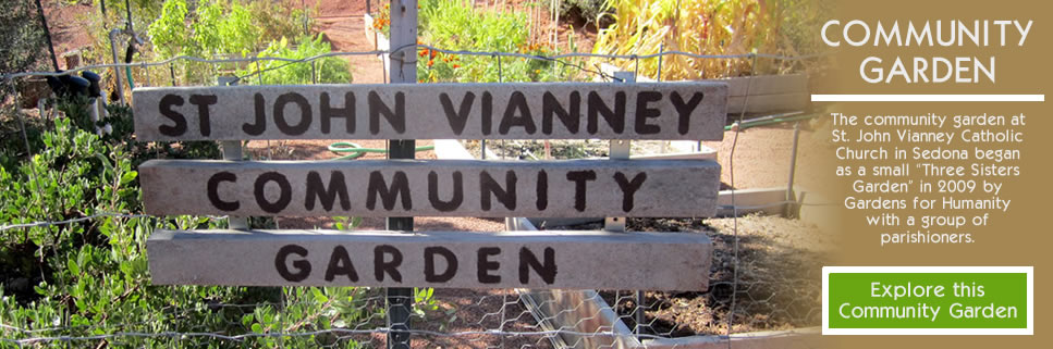 COMMUNITY GARDENS PROGRAM | St. John Vianney Community Garden