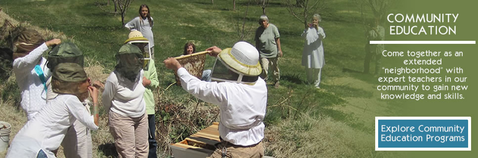 COMMUNITY EDUCATION PROGRAM | Beekeeping Workshop
