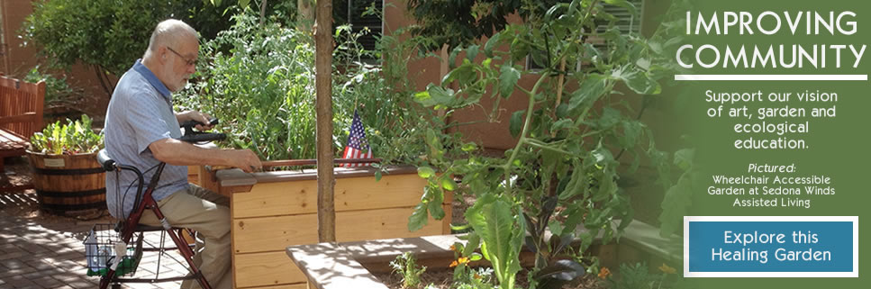 COMMUNITY GARDENS PROGRAM | Sedona Winds Wheelchair-Accessible Garden