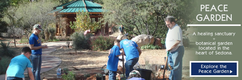 COMMUNITY GARDENS PROGRAM | Peace Garden at Sedona Creative Life Center